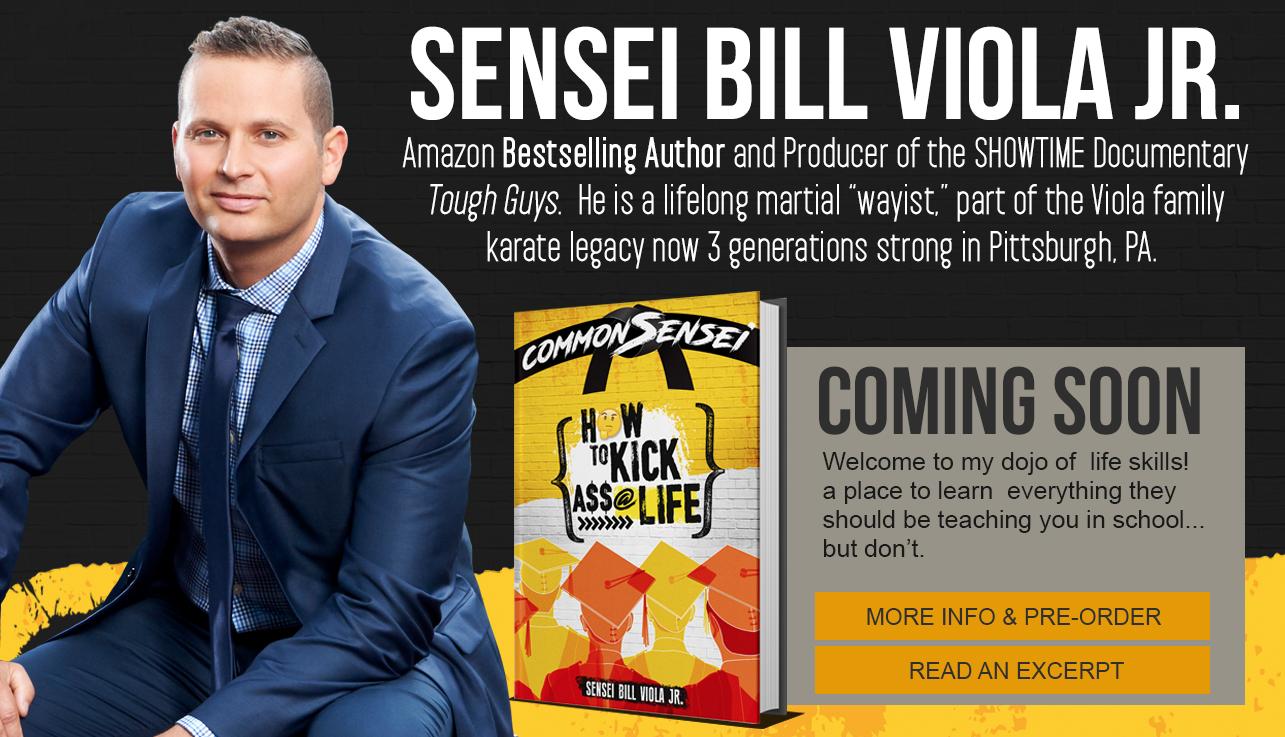 bill viola jr author of common sensei