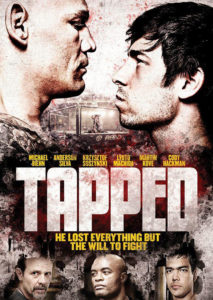 Tapped mma movie poster