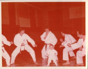bill viola jr first karate class